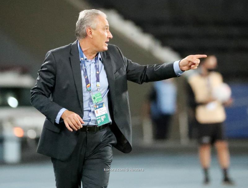 مدرب البرازيل تيتي يصف مواجهة كولمبيا بالصعبة