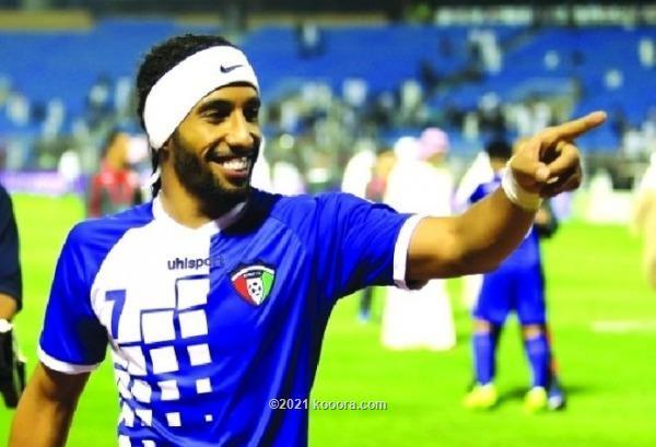 نادي الكويت يعيد لاعبه السابق فهد العنزي