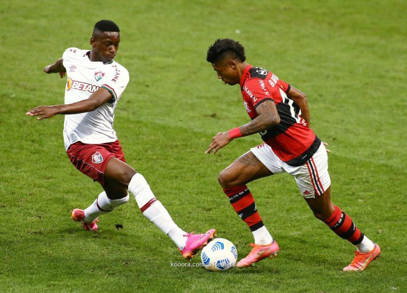 فلومينسي يواصل التألق في الدوري البرازيلي ويهزم فلامنجو
