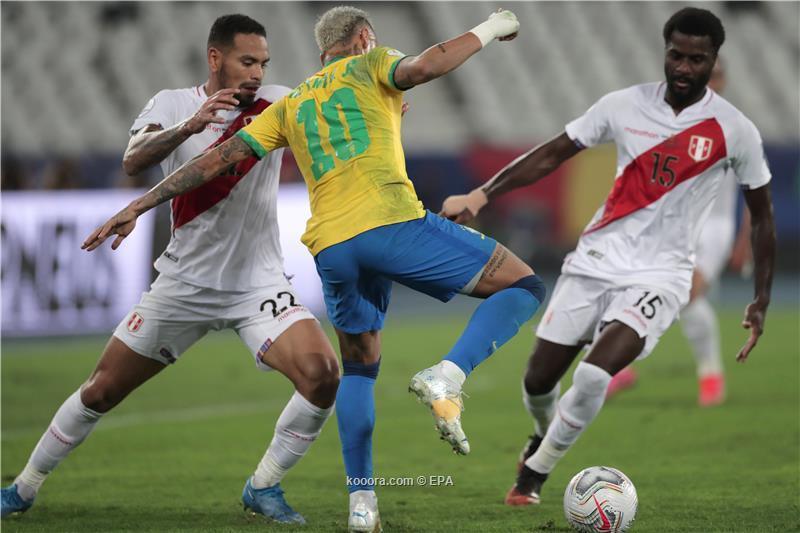 نيمار يقود البرازيل لنهائي كوبا امريكا