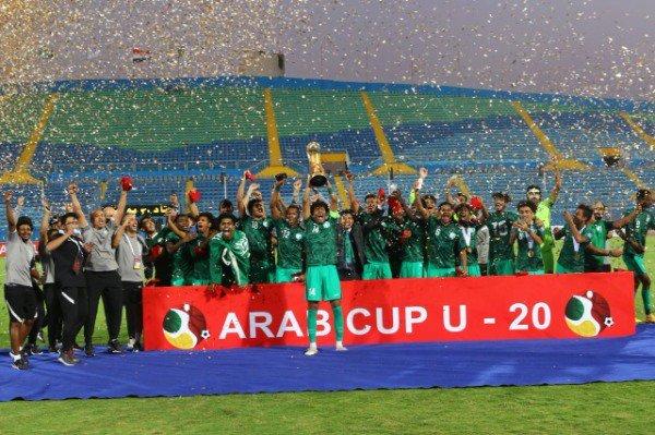 السعودية تفوز ببطولة العرب للشباب