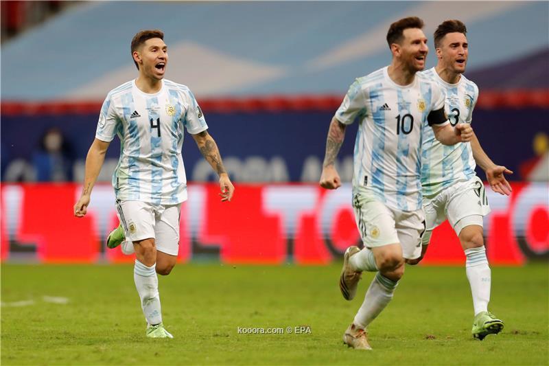 الساحر ميسي متحفز لفك لعنة الألقاب مع الأرجنتين