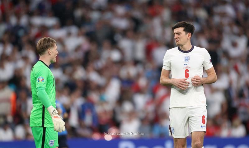ماجواير: الاساءات العنصرية ضد ثلاثي إنجلترا لم تفاجئني