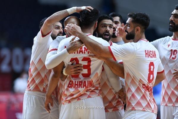 تكريم يد البحرين برغم خسارتها من السويد