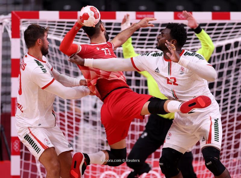 هزيمة قاسية ليد البحرين في الاولمبياد