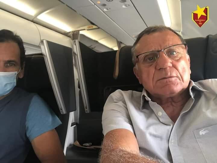 غارزيتو وانطونيو في طريقهما للخرطوم