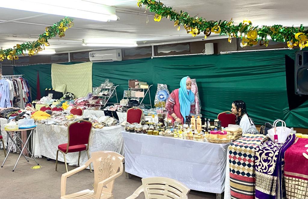 بمشاركة الاسر بدولة قطر  نجاح (مبهر )لمعرض المنتجات السودانية