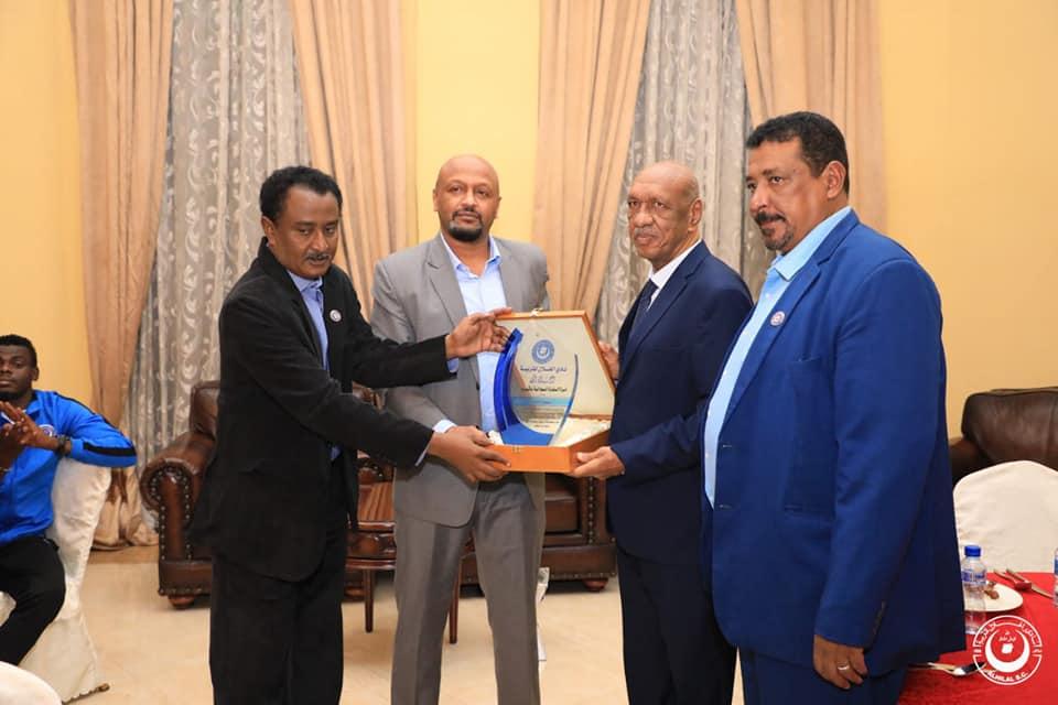 الهلال يكرم السفير جمال الشيخ