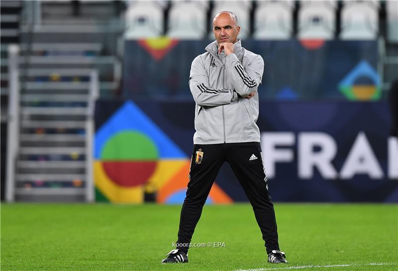 روبرتو مارتينيز مدرب بلجيكا: سنواجه فرنسا بنسخة أفضل من مونديال 2018