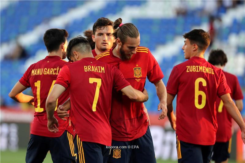 اسبانيا توقف سلسلة ايطاليا وتفوز عليها بهدفين