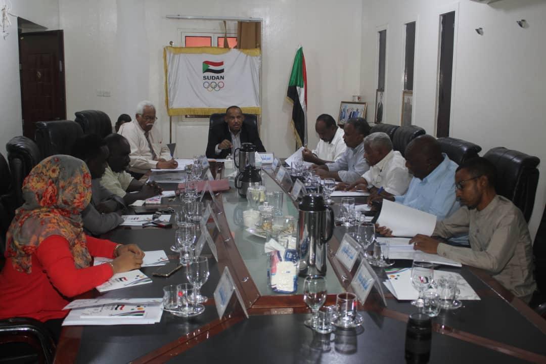 المجلس التنفيذي للأولمبية السودانية يجتمع و يصدر عدد من القر..