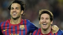 برشلونة يقيم حفلا كرويا في كامب نو للرد على منتقديه ويهزم اوساسونا 8-0!!!