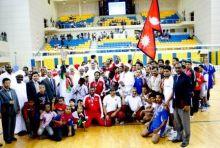 السودان بطلا لدوري جاليات الطائرة بقطر و الهند تفوز بالبرونزية على إيران