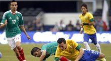 البرازيل تسقط بثنائية ودية أمام المكسيك!!!