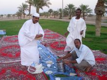 هلالاب حائل يقيمون إفطارهم السنوي