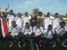 وفاة لاعب منتخب جنوب السودان لويس وهو يتاهب للمشاركة في اول محفل قاري باسم الدولة الجديدة