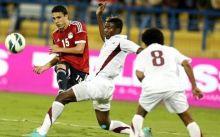 الدوحة ..هزيمة قاسية للفراعنة من قطر بثلاثية