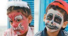 دراسة علمية : الرسم على وجوه الاطفال يصيبهم بالسرطان