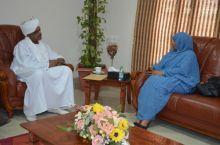 الامين العام لجهاز المغتربين يلتقى سفيرة السودان بايطاليا ويبحثان سبل التعاون المشترك