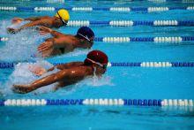 نادى أولمبيا يحتفل بتخريج أول دفعة من السباحين المكفوفين وتكريم الثنائي المصري