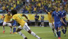 البرازيل تضرب ايطاليا برباعية وتدفعها لمواجهة اسبانيا
