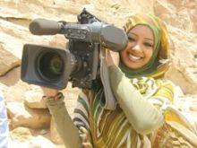 """الإعلامي عثمان هرون يخطف نجمة """"الشروق"""" تقوى محجوب"""