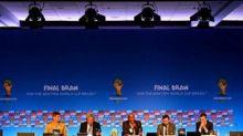 أنظارالعالم تترقب قرعة كأس العالم اليوم بالبرازيل.