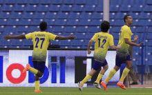النصر يقلب الطاولة و يقهر  الأهلي السعودي بثلاثة اهداف لهدف