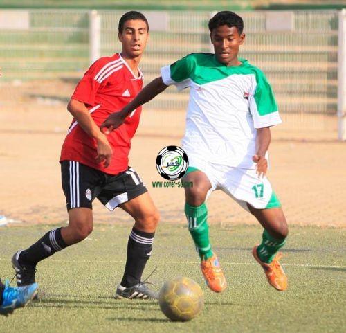 السودان يخسر من مصر بثلاثة اهداف و يودع