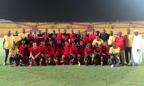 24 لاعبا مع المريخ يوم الاربعاء لرواندا