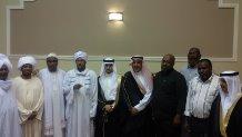 السودانيون في حائل يُشاركون فهد الجار الله فرحته