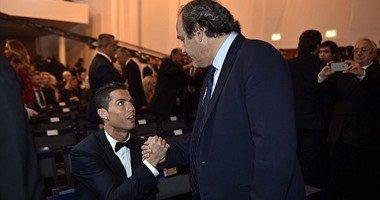 بلاتيني : رونالدو ترك بصمته في التاريخ