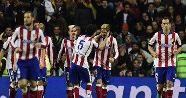 اتلتيكو مدريد يجرد الريال من لقبه في كأس الملك