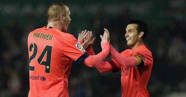 برشلونة يضرب موعدا مع اتلتيكو في ربع نهائي كاس الملك