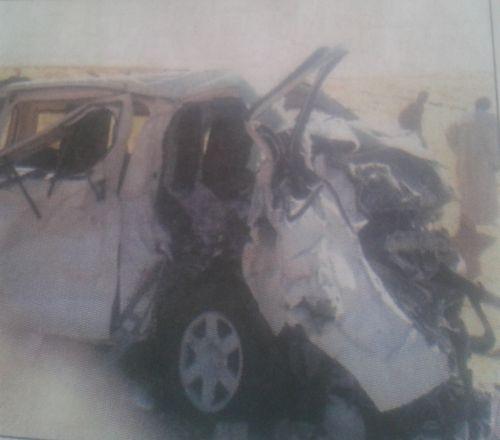 وفاة 12 شخصا في حادث حركة بمروي
