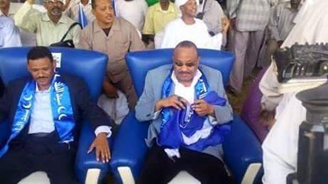 الوزير بله يوسف ينتقد الاعلام ويشيد بانجاز مجلس الهلال