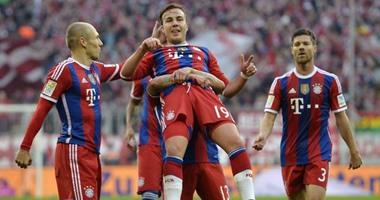 بايرن ميونخ يجتاز بروسيا في الدوري الالماني