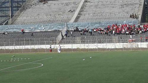 استاد كاموزو في كاملة الجاهزية لمباراة الهلال والنيلين الرياضية تنقل المباراة