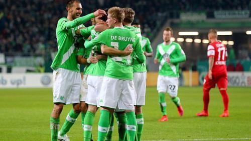 فولفسبورغ يواصل نتائجه المميزة و يصعد لنصف نهائي مسابقة كأس المانيا