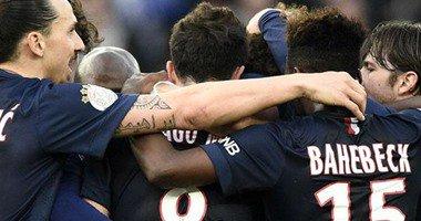 باريس سان جيرمان يقهر  سانت ايتيان بأربعة اهدف مقابل هدف وحيد