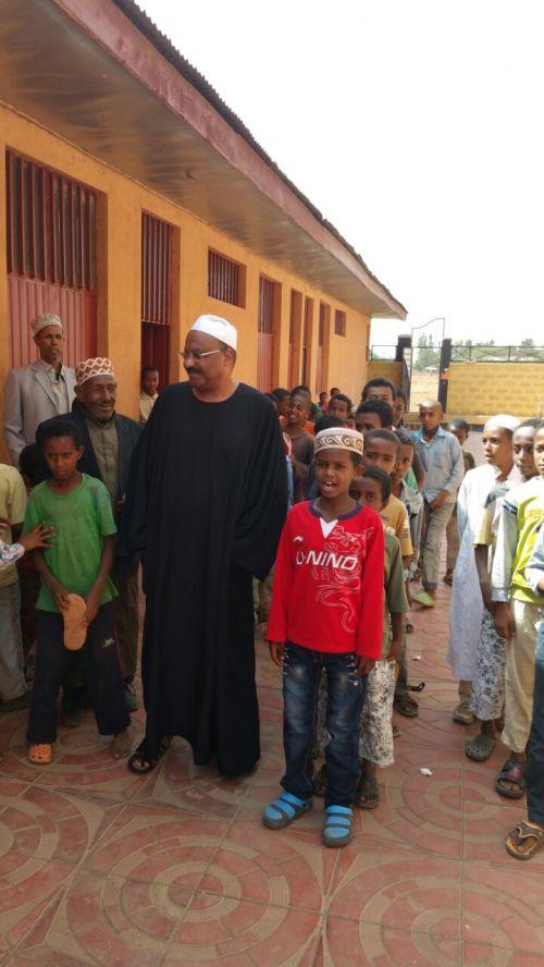 """الكاردنال يتفقد مجمع """"محاسن"""" الاسلامي في بحر دار الأثيوبية"""