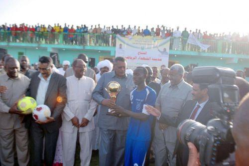 عبد الرحمن إبراهيم :إفتتاح نائب الرئيس   لملعب الناشئين  يؤكد إهتمام الدولة بالرياضة