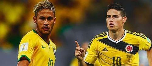 البرازيل و كولمبيا في مواجهة نارية