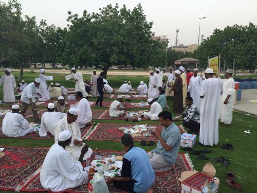 افطار جماعي لرابطة المريخ في الدمام وتكريم للنجم عبده الشيخ