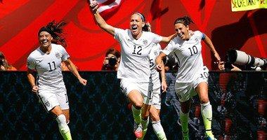 امريكا تفوز بكاس العالم للسيدات