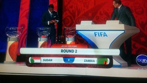 السودان يواجه زامبيا في تصفيات كاس العالم