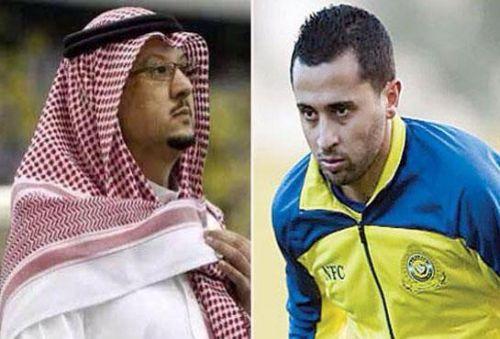 الرياض..رئيس النصر ينهي ازمة غالب