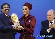 بلاتر : المال لم يكن سببا في فوز قطر وروسيا بتنظيم كاس العالم
