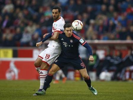 بايرن يقترب من لقب الدوري الألماني بالفوز بهدف على كولونيا