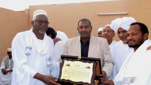 جمعية أبناء ودمدني الخيرية (الوفاء لأهل العطاء) تكرم نجيب عبدالرحيم